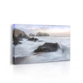 Quadro Crescent Beach Waves 2