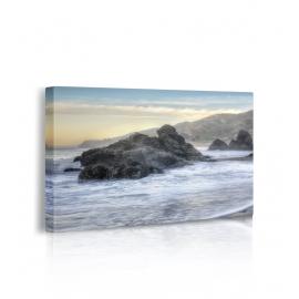 Quadro Crescent Beach Waves 4