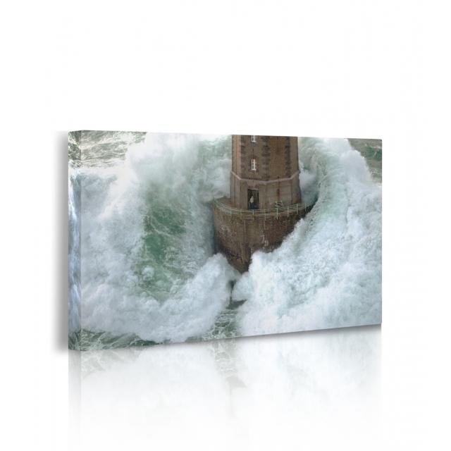 Quadro con acqua in movimento prospettiva