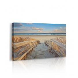 Quadro con sabbia e acqua prospettiva