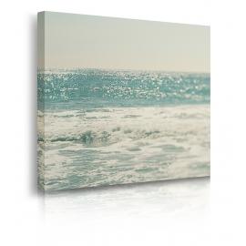 Quadro onde mare ambientazione