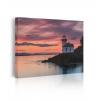 quadro tramonto sul mare prospettiva