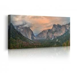Quadro con montagne prospettiva