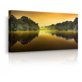 quadro con lago prospettiva