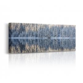 quadro silenzio inverno prospettiva