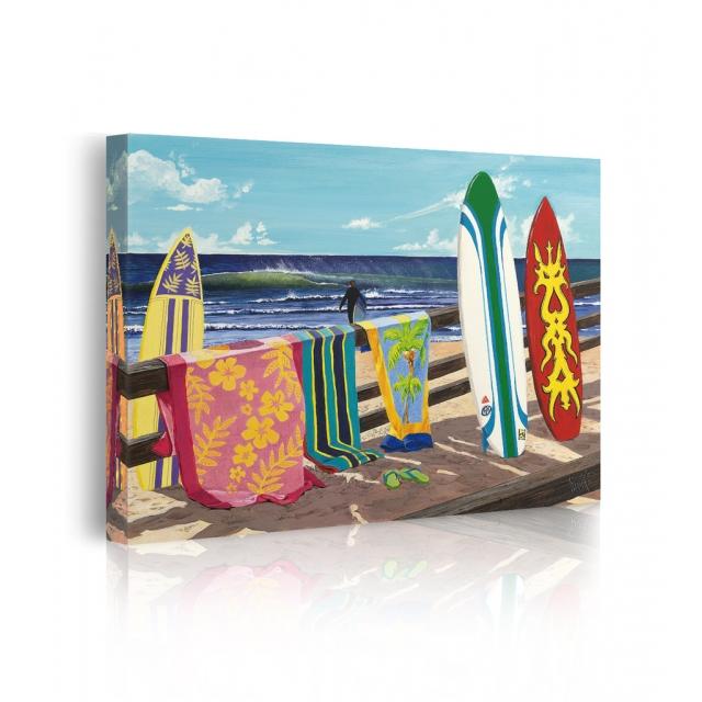 quadro spiaggia mare