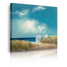quadro riva al mare prospettiva