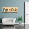 Quadro Florida ambientazione