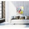 quadro astratto colorato ambientato