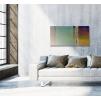 quadro astratto colorato ambientazione