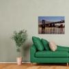 quadro Brooklyn bridge ambientazione