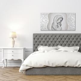 quadro Maternità con filigrana in argento