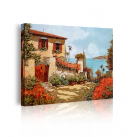 Quadro Il Giardino Rosso