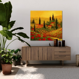 Quadro Poppies of Toscano II