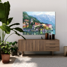 Quadro Reflections of Lake Como