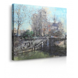 Quadro Notre Dame on the Seine