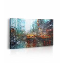 Quadro Times Square Reflections prospettiva