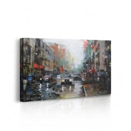 Quadro Montreal Rain prospettiva