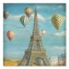 Quadro mongolfiere a parigi
