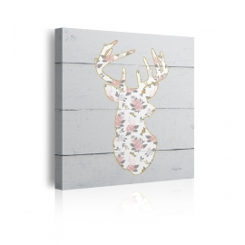 Quadro Floral Deer I
