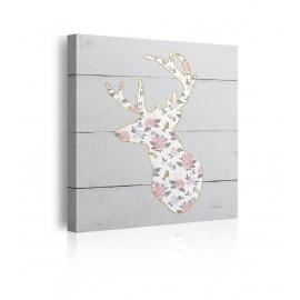 Quadro Floral Deer II
