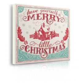 Quadro Merry Little Cistmas V