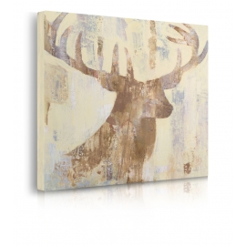 Quadro Golden Antlers I Neutral Grey