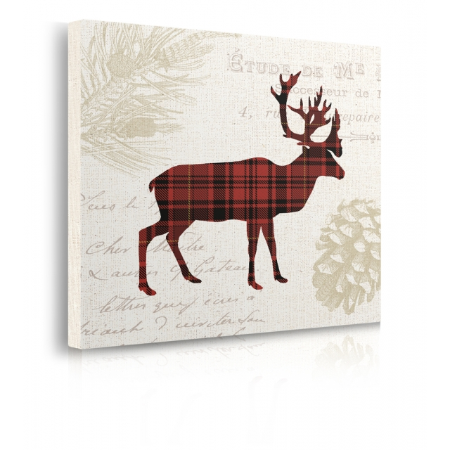 Quadro Plaid Lodge I