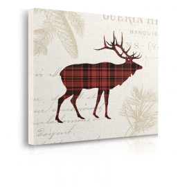 Quadro Plaid Lodge III