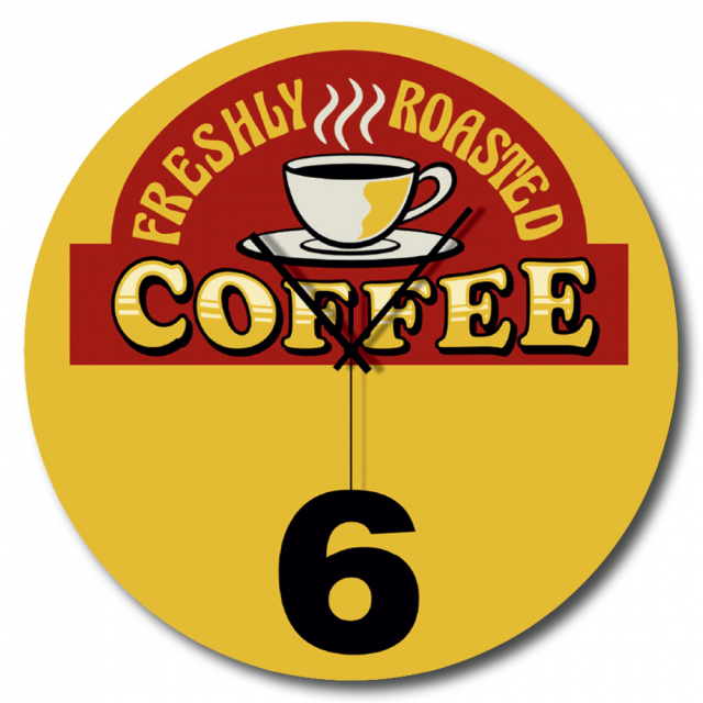 Orologio Coffee 6