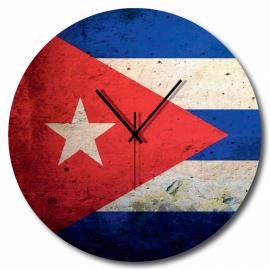 Orologio bandiera cubana