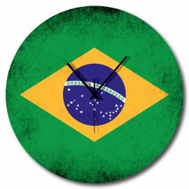 Orologio bandiera brasiliana