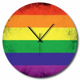 Orologio bandiera pace
